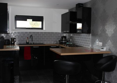 barn owl lodge self catering kitchen